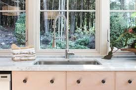 Kitchen Sink Size And Window Size by Kitchen Sink Under Windows Cottage Kitchen