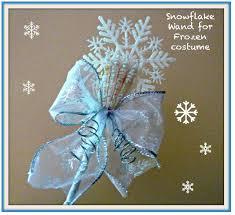 Snowflake Halloween Costume Disney Crafts Frozen Inspired Snowflake Wand Halloween