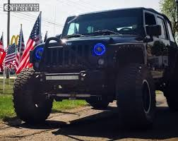 black jeep black rims wheel offset 2015 jeep wrangler super aggressive 3 5 suspension