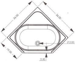 bathroom design dimensions small corner tub dimensions r g mobile home supply 36 corner rv