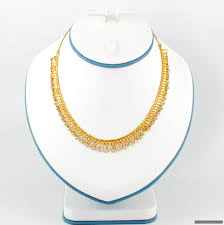 gold necklace sets images 22ct indian gold necklace set 901 61 necklace sets indian JPG