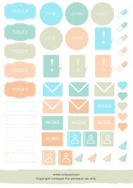 To Do Stickers Stickers For Your Planner Free Download Notiepad