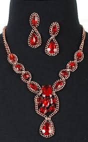 diamond necklace red images Red diamond necklace accessories pinterest diamond red and jpg
