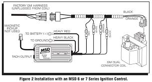 msd 9997 streetfire ignition kit 87 95 gm pickup suv 454