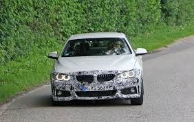 2018 bmw 4 series convertible makes spyshot debut ready to beat
