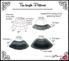 how to make a petticoat how to make a fluffy tea length petticoat sewing