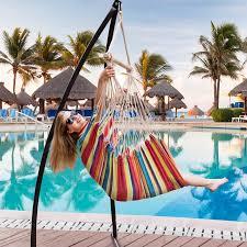 lazydaze hammocks canvas hanging hammock swing chair seat with