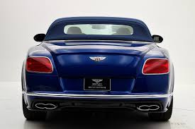 bentley convertible blue 2017 bentley continental gt v8 s convertible