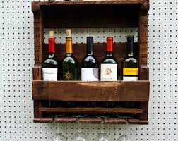 Wine Decor For Kitchen Wall Wine Rack Etsy