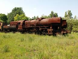 rusty train file to be restored old rusty steam locomotive at the museum of