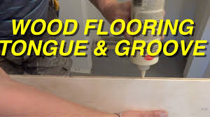 Installing Laminate Flooring In Hallway Tongue And Groove Wood Flooring Installation In A Hallway How To