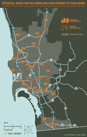 San Diego City Map by San Diego U0027s Ambulance Algorithm Voice Of San Diego