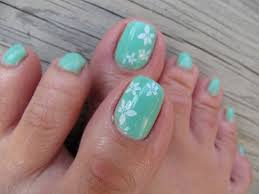 simple toe nail art forms that you can create at home