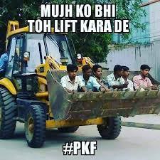 Bulldozer Meme - follow pileskafoda jcb bulldozer lift meme memes india