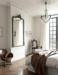 miroire chambre miroir au dessus du lit grand miroir ancien chambre a coucher lit