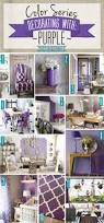 color series decorating with purple teal decorating and room