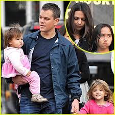 matt damon s house boston matt damon adjustment bureau family fun day celebrity babies