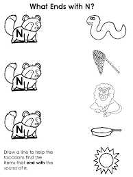 letter n worksheets kindergarten worksheets