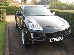 porsche cayenne blacked out porsche cayenne s 4 8 v8 metallic black full history long mot