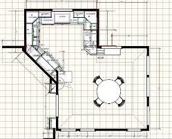 Kitchen Floor Plans Kitchen Floor Plans Hometutu