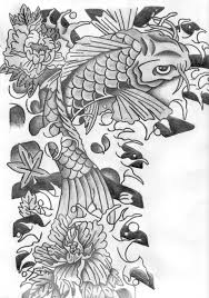 Shoulder Design - shoulder design koi fish by expressiontattooing on deviantart