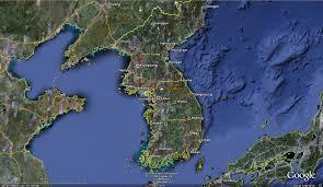 World Map Korea Ceop Asia Korean Peninsula Reference Site Dk Station