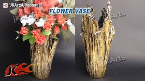 How To Decorate Flower Vase Diy Up Drip Flower Vase From Waste Cloth How To Make Jk Arts