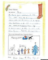 santa claus letters homeless kids letters to santa remind us not everyone will a