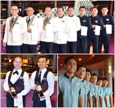 New Holland America Line Uniforms Win Image Award Holland - Dining room attendant