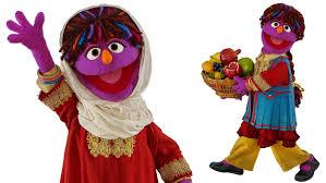 sesame street halloween background new afghan muppet zari aims to promote girls u0027 rights on u0027sesame