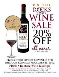 on the rocks wine spirits home
