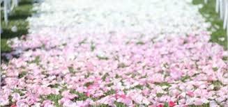 petal aisle runner diy petal aisle runner how to guide freebieville