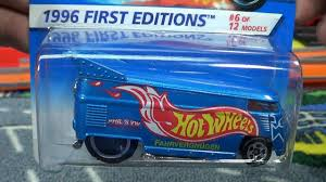 wheels vw bus first edition vs 30th anniversary re release