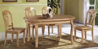 dining table round wood dining table set pythonet home furniture