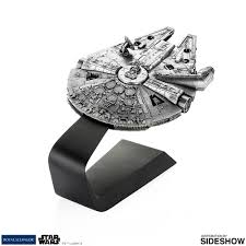 millennium star diamond star wars millennium falcon pewter collectible by royal sela