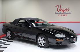 1999 black camaro 1999 chevrolet camaro cars cars for sale in las