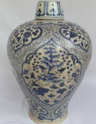 Blue And White Ceramic Vase Antique Chinese Porcelain U2013 Real Rare Antiques
