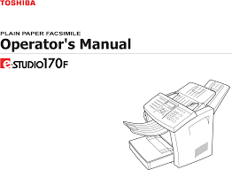 toshiba all in one printer 170f user guide manualsonline com