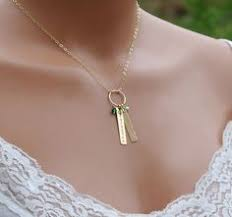 mothers necklace with names dainty gold necklace cz dot gold necklace simple gold necklace