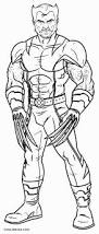 marvel coloring pages printable printable wolverine coloring pages for kids cool2bkids