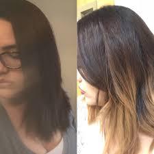 from dark brown to light brown hair dark brown hair to light brown ombré hair demo tutorial how to