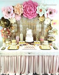 backdrop for baby shower table baby shower table centerpieces cute themes for girls decorating
