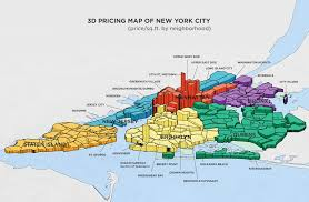 map of new your neighborhoodx s 3d map reveals the blocks where real estate prices