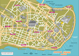 map attractions map of istanbul tourist attractions sightseeing tourist tour