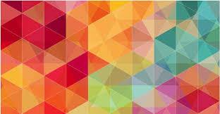 vibrant wallpaper vibrant coloured triangles wallpaper designs for wall decor