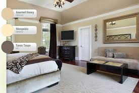 Taupe Interior Paint Color Taupe And Beige Bedroom Interiors By Color