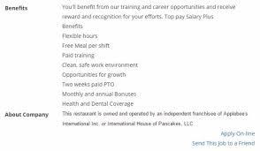 ihop job application u0026 employment resources job application point