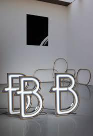 Neon Desk Lamp B Graphic Neon Letter Lamps Delightfull