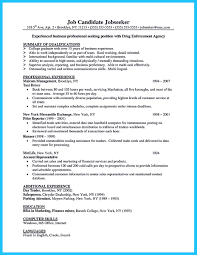 Proprietary Trading Resume Make The Most Magnificent Business Manager Resume For Brighter Future