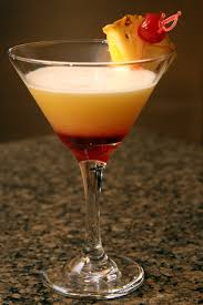pineapple upside down cake martini thehomoculture com